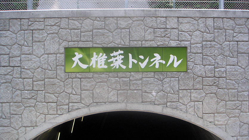 大椎葉トンネル(西都市)