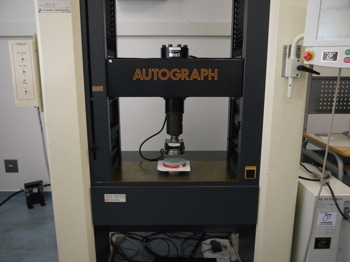荷重試験(オートグラフ機)