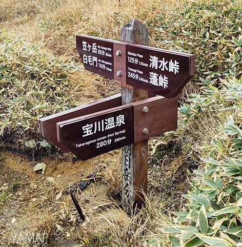 群馬県両線トレイル誘導標識